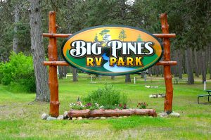 Big Pines RV Park in Park Rapids, MN