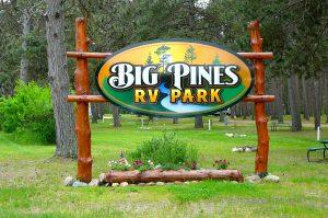 Big Pines RV Park in Park Rapids, MN