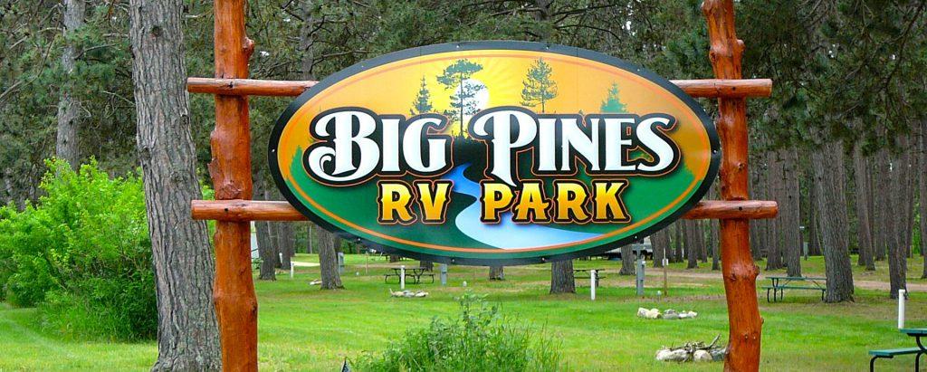Big Pines RV Resort Park Rapids, MN