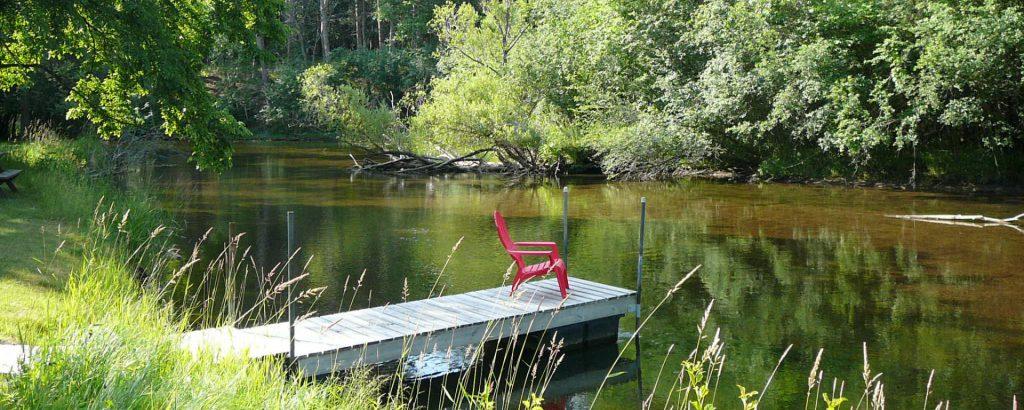 Park Rapids RV Campsites on the Fish Hook River