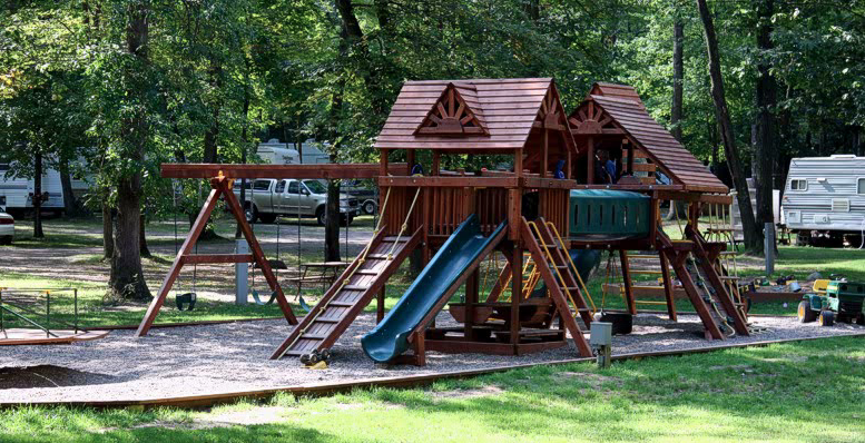 Park Rapids RV Park Playground