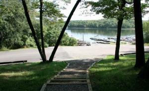 marina on Eagle Lake in Park Raipds MN