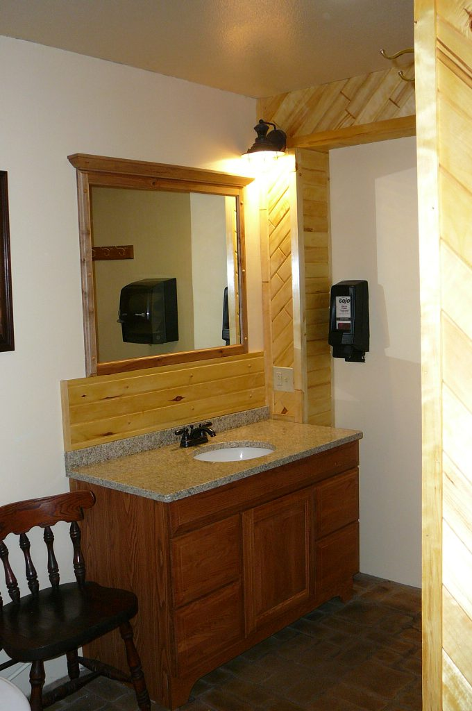 Private Bathrooms at Big Pines RV Park