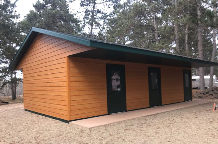 Updated Bathrooms at Big Pines RV Resort