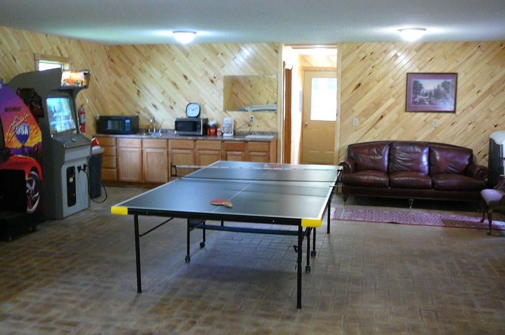 Big Pines RV Resort Game Room