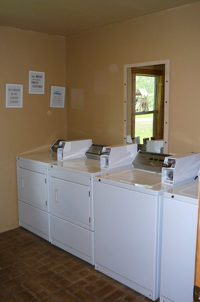 Laundry at Big Pines RV Park